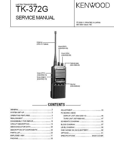 kenwood tk 760hg 1 manual
